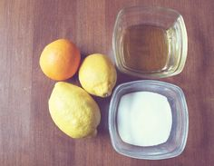 DIY Summer Citrus Body Scrub
