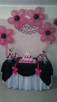 Cute Set up for a Baby shower!