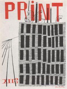Print, 1950s, illustration by Ben Shahn