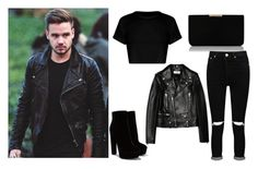 """""""Liam Payne"""" by caitlynrunager on Polyvore featuring Payne, Yves Saint Laurent, L.K.Bennett, Boohoo, OneDirection, LiamPayne and polyvorefashion"""