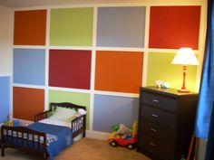 Colorful Toddler Room