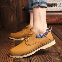 finest selection e3722 73b08 British Style Breathable Recreational Casual Lace Up Oxford Shoes - NewChic