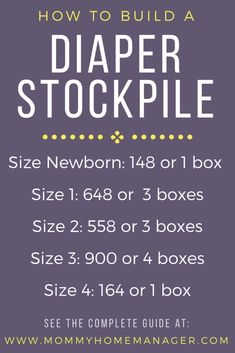 The Complete Guide to Building a Diaper Stockpile Building a stock of diapers before your baby is born will save you time and money in the long run. Check out this post to learn how and why to build up your diaper stockpile. Before Baby, After Baby, Couches, Diaper Stockpile, Baby Life Hacks, Baby Planning, Baby Care Tips, Preparing For Baby, Baby Arrival