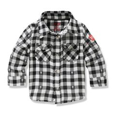 Baby Boys' Woven Check Shirt