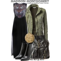 Inspired by Emma Roberts as Madison Montgomery on American Horror Story: Coven.