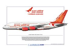 Airlinerart, Aviation Art Prints, Airliners, Airplanes, Aircraft, Boeing and Airbus Art
