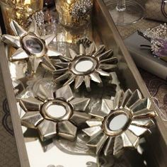 I pinned this 8 Piece Flower Ornament Set from the Beneath My Heart event at Joss and Main!
