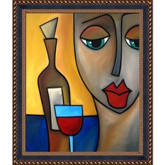 ArtistBe Tom Fedro 'By Myself' Framed Fine Art Print on