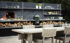 WWOO Concrete Outdoor Kitchen : Industriële tuinen van NewLook Brasschaat Keukens