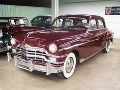 1949 Chrysler-just like my grandfather and grandmothers car