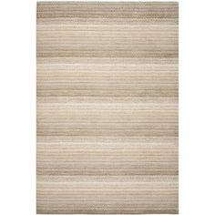 Safavieh Hand-loomed Himalaya Beige Wool Rug (5' x 8') - Overstock™ Shopping - Great Deals on Safavieh 5x8 - 6x9 Rugs