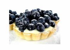 Blueberry Vanilla Tart - Beautiful Party Desserts Photo Contest from Food & Wine