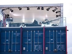 BBC Sport Studios above shipping containers by reevery, via Flickr