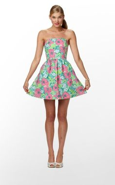 Blythe - the girl in the pink and green lily pulitzer #rebelbelle #penguinteen