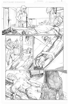 The Disease - 8 - Pencil by me - Property of Octane Comics