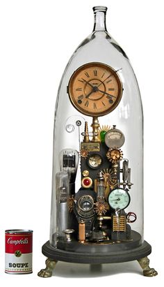 I love clocks and think steampunk is inspired.  so this is pretty awesome!   Klockwerks by Roger Wood