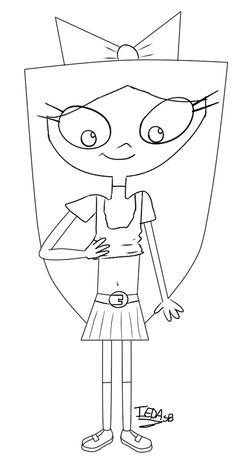 fireside girls coloring pages | Happy B Day Colored by Big-Isabella-Fan on DeviantArt ...
