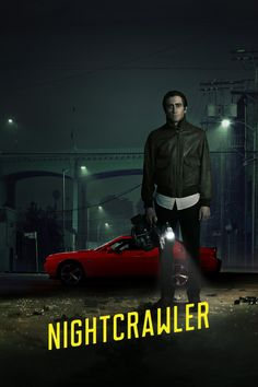 Posters and movie stills for the dark-thriller Nightcrawler, starring Jake Gyllenhaal, Rene Russo and Bill Paxton Rene Russo, Movies 2014, Hd Movies, Movies To Watch, Movies Online, Movie Film, Popular Movies, Comedy Movies, Jake Gyllenhaal