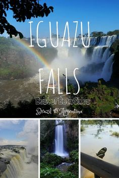 The most spectacular waterfalls in the world. Read our blog post to make sure you see Iguazu Falls at the right time from both Argentina and Brazil