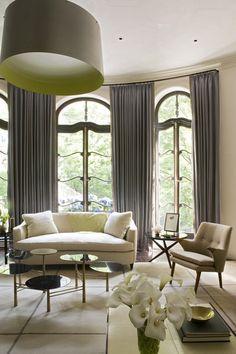 Contemporary Living Room Photo - Lonny