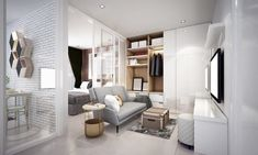 small condo living room decorating ideas - Internal Home Design Flat Design, Design Plat, Home Design, Design Ideas, Small Condo Living, Condo Living Room, Small Living Room Design, Small Apartment Organization, Studio Decor