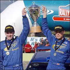 Richard Burns 2001 a win in New Zealand Richard Burns, Subaru Rally, Rally Drivers, Colin Mcrae, Race Cars, Porsche, Legends, Photo Galleries, Racing