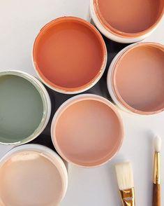 bedroom peach Color Inspo :: My Love for Warm Tones Again Colour Pallete, Colour Schemes, Color Combos, Orange Color Palettes, Orange Paint Colors, Warm Paint Colors, Warm Colours, Earthy Color Palette, Autumn Colours