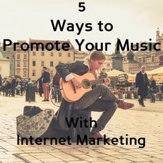 You make awesome music, but you are not sharing it on Internet? Not using Internet Marketing yet? You are missing out. With these simple steps you can...