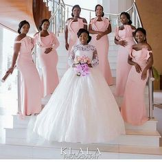 African Off Shoulder Bridesmaid Dresses Long Ruched Pleat Maid of Honer Wedding Party Gown Dress African Bridesmaid Dresses, Off Shoulder Bridesmaid Dress, Wedding Bridesmaid Dresses, Brides And Bridesmaids, Wedding Party Dresses, Wedding Attire, Bridal Dresses, Party Gown Dress, Party Gowns