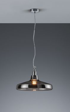 DOVER - závesné svietidlo dymové sklo - ø 400mm