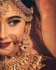 Perfect finishing to a bridal look is given by stunning nose rings! Book the best makeup artist now with BookEventZ to get the perfect bridal look on THE DAY! Bridal Poses, Bridal Photoshoot, Bike Photoshoot, Indian Photoshoot, Bridal Tips, Bridal Makeup Looks, Indian Bridal Makeup, Asian Bridal, Wedding Makeup