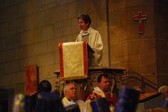 Presiding Bishop Katharine preaches at convention Eucharist