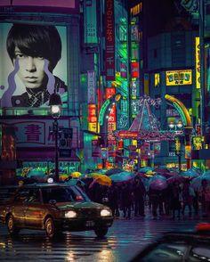 O Neon da Vida Noturna de Tóquio Capturado por Liam Wong