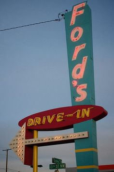 Ford's Drive - In Great Falls, Montana