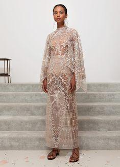 Sandra Mansour Spring-summer 2019 - Ready-to-Wear Women's Runway Fashion, Fashion 2020, Couture Fashion, Muslimah Wedding Dress, Gareth Pugh, Fairy Dress, Looks Chic, Fashion Lighting, Comme Des Garcons