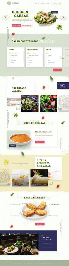 The Salad Bar on Behance