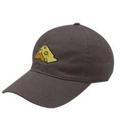 City Hunter C104 Cheese Cotton Baseball Dad Caps Dark Gray, Adult Unisex, Grey