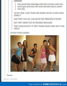 I think the guys at my school should do this!!