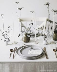 Nordic Style, Place Cards, Table Settings, Place Card Holders, Rustic, Rustic Feel, Table Top Decorations, Place Settings, Retro