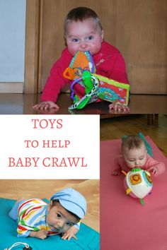 Toys to help baby crawl features the best baby crawling toys as tested by me! Toys that promote crawling are fabulous baby developmental toys