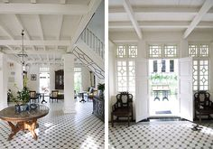 Clove Hall - The Common Pursuit British Colonial Decor, Modern Colonial, Asian Inspired Decor, Long House, Oriental Decor, Indochine, White Houses, China, My Dream Home