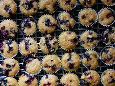 Cassie Craves: Blueberry Zucchini Mini Muffins