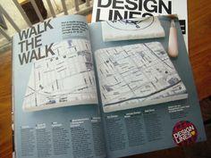 Two-page spread in Designlines magazine! pg.58-59 #Toronto #Design cc: @Azure Magazine