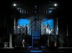 Roni Toren Stage Design - Yentl  based on  Isaac Bashevis Singer, Cameri Theatre, Tel-Aviv, 2009, Directed by Moshe Kepten, Music: Yossi Bin-Noon,Set:Roni Toren,Costumes:Orna Smorgonski, Light:Felice Ross.
