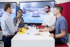 Brand expects faster and more efficient development processes through virtual validation Volkswagen experts develop software for simulated environments Virtual Reality Education, New Drivers, Technology World, Driving Test, Volkswagen, Learning, Software, September, Concept
