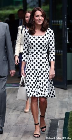 IT's D&G for Wimbledon, And George/Charlotte to Join Poland/Germany Tour - What Kate Wore
