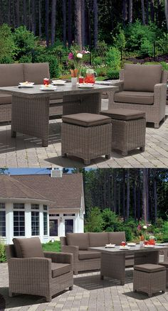 Kettler Palma Collection   Deep Seating Furniture   Outdoor Living   Christy  Sports