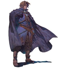 Lezard Valeth from Valkyrie Profile 2: Silmeria