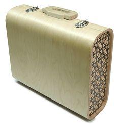 Sam's Garage Bent Plywood Briefcase