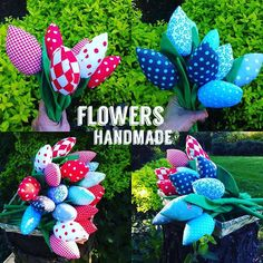 Brand new flowers still coming up Sewing For Kids, Handmade Toys, Plushies, Tulips, Gifts For Kids, Home Accessories, Birthday Gifts, Etsy Seller, Etsy Shop